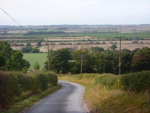 Lane down to Horkstow