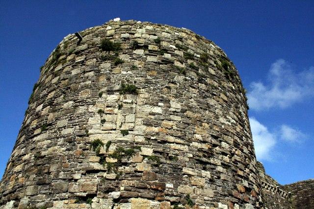 Tower at Beaumaris Castle