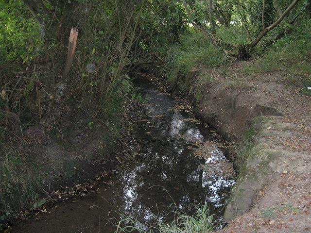 Stream near Lower Edburton Barn