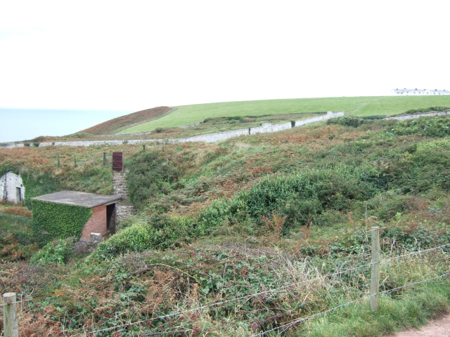 A curious walled area on St Ann's Head