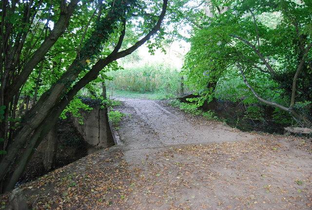 Footbridge over the Straight Mile