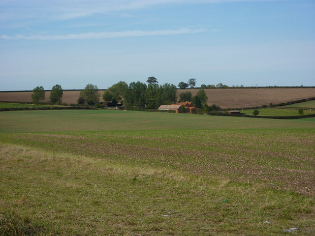 Open fields surrounding Barton Grange