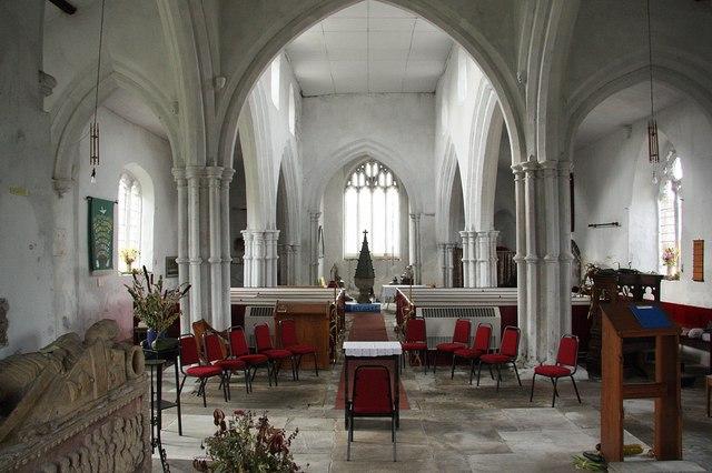 All Saints' nave