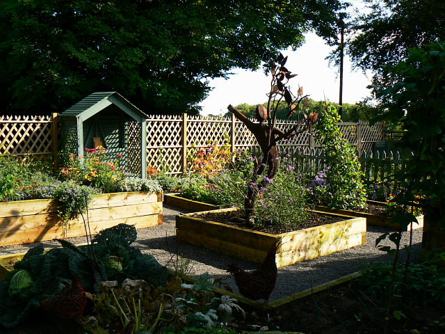 Kitchen Garden, Ranger Centre, Stanton Park, Swindon (1)