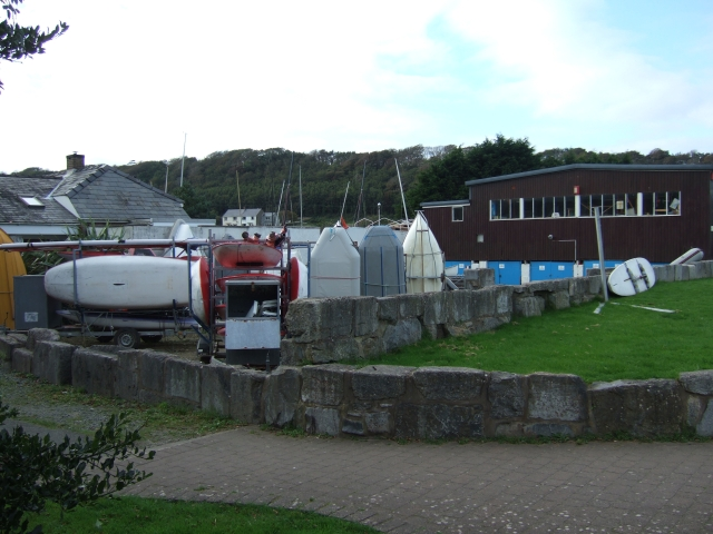 The sailing club at Dale