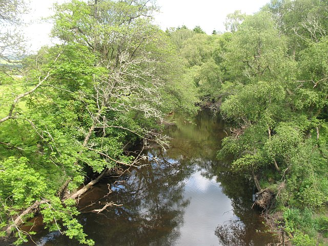 River Forth by Gartrenich Bridge