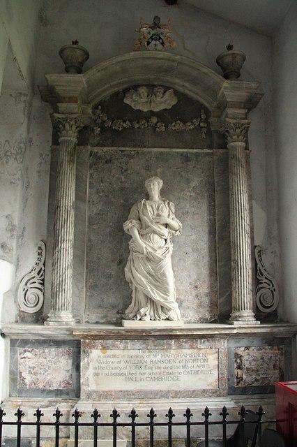 Mary Ramsden memorial