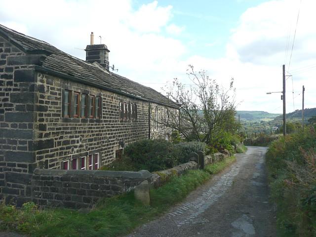 Cottages, Park Lane, Mytholmroyd