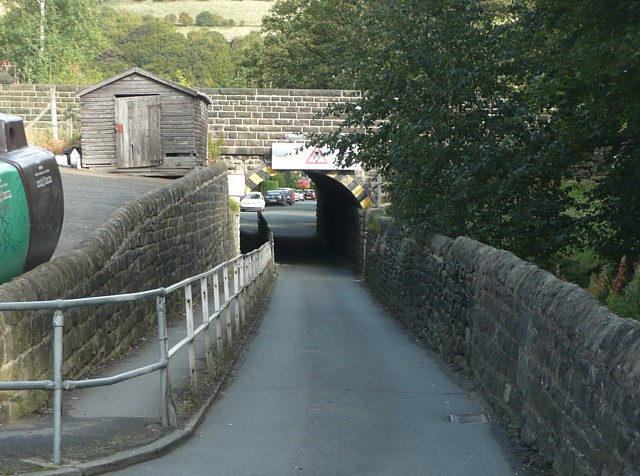 Thrush Hill Road Bridge, Mytholmroyd