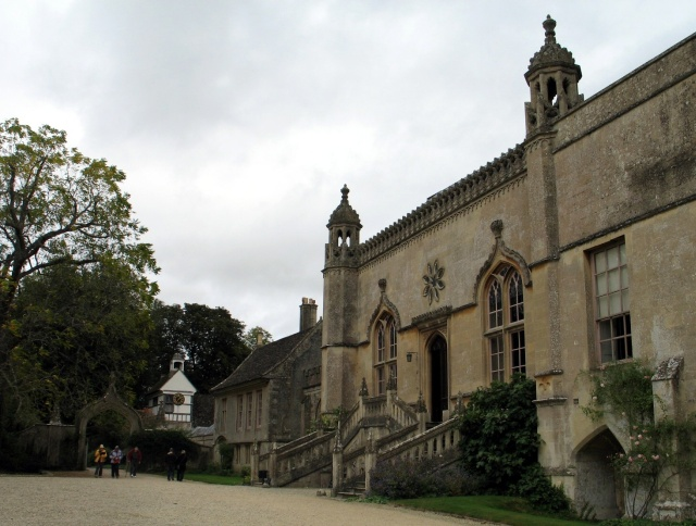 Forecourt, Lacock Abbey