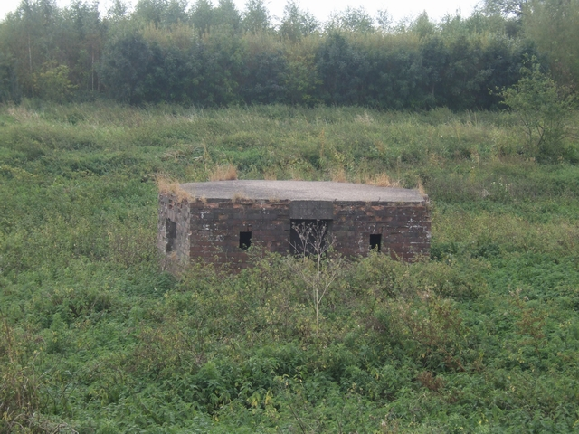 Type 24 Pillbox at Wychnor Bridges