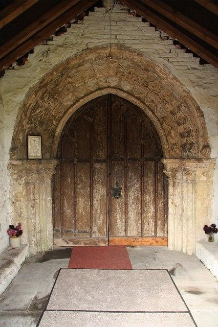 All Saints' south door