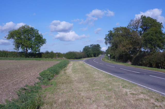 B1225 and the turn for Benniworth village