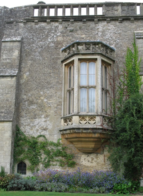 Oriel Window at Lacock Abbey