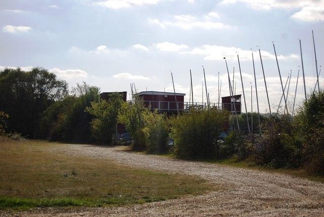 Boats, Haysden Sailing Club, Haysden Lake