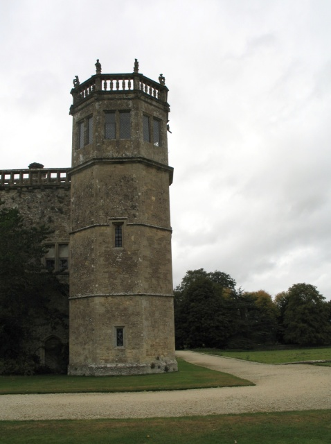 Tower at Lacock Abbey