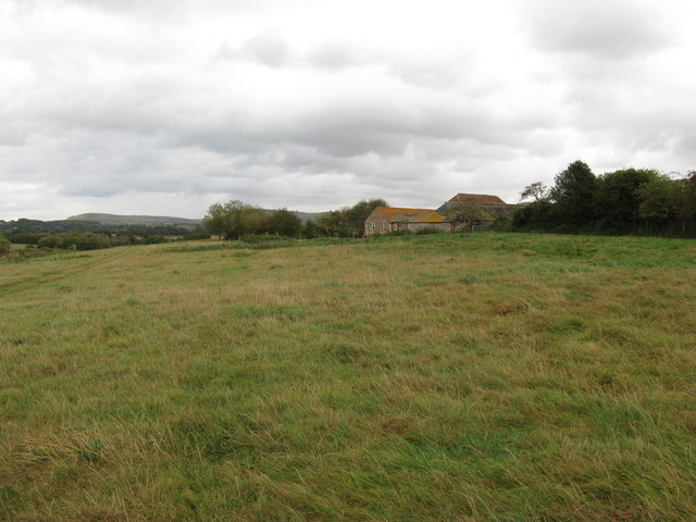 Farm buildings at South Tottington Sands
