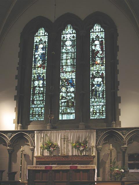St Luke's church, Kew - east window