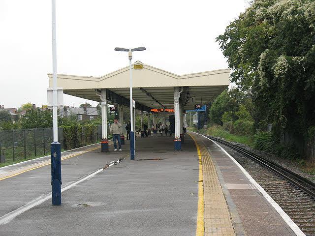 North Sheen station: platforms