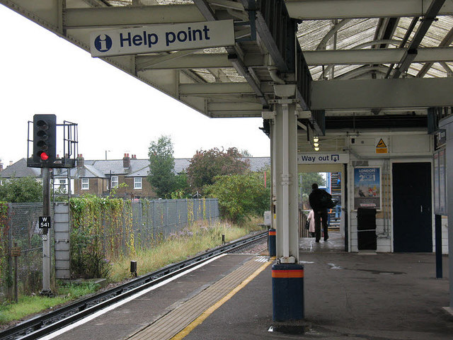 North Sheen station: exit