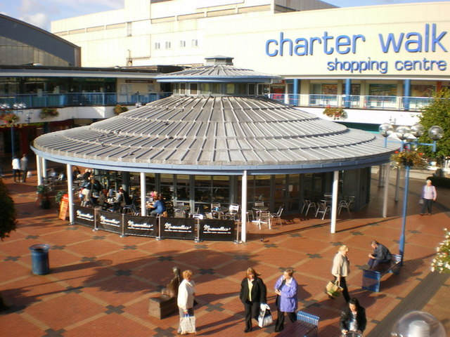 Cafe, Charter Walk Shopping Centre