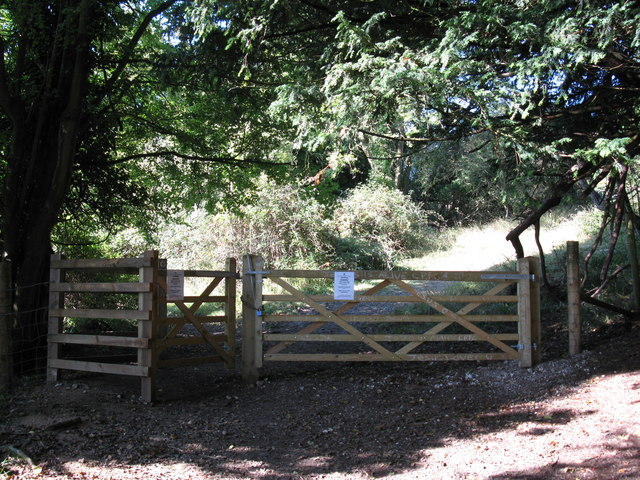 Gates at Box Hill