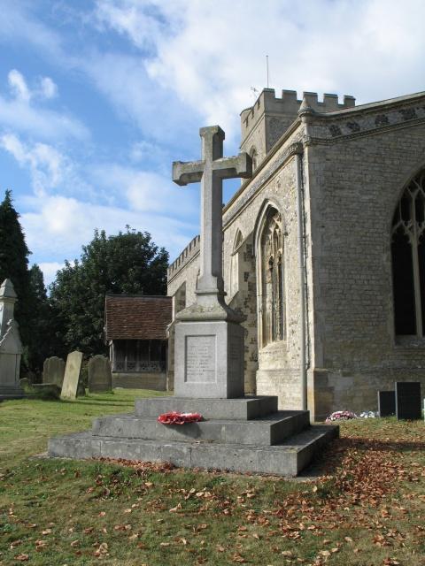 War Memorial, All Saints Church at Marsworth