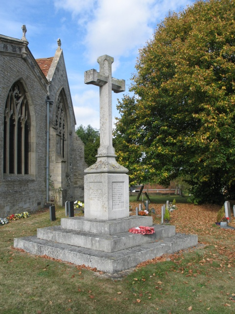 War Memorial, All Saints Church at Marsworth