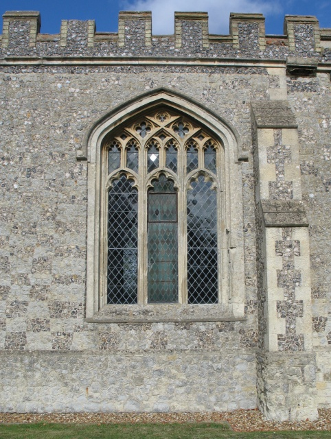 Latticed Window, All Saints Church at Marsworth