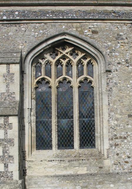 Latticed Window, All Saints Church at Marsworth