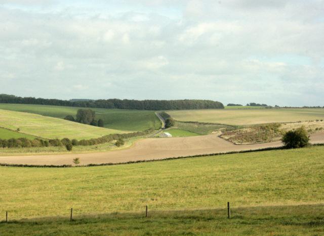2009 : Toward Pen Hill Barn