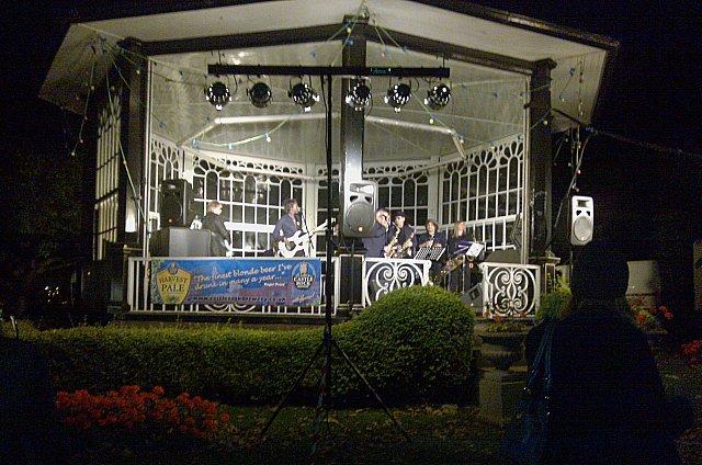 The Blue Jacks at Nottingham Beer Festival