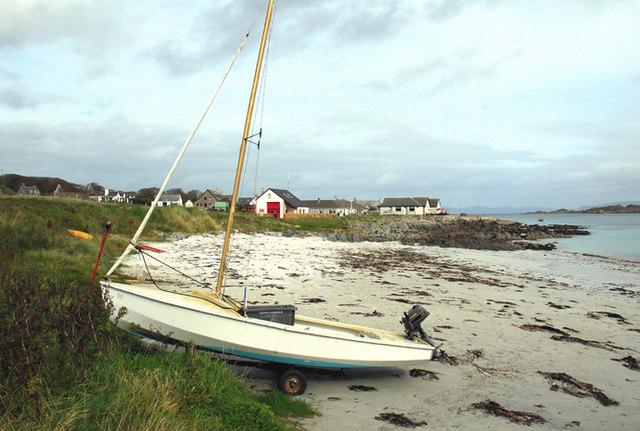 Iona - looking towards the jetty