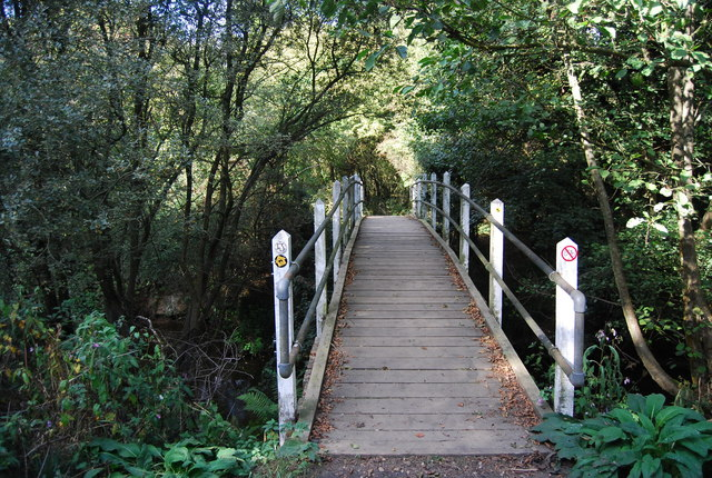 Straight Mile Bridge, Haysden Country Park