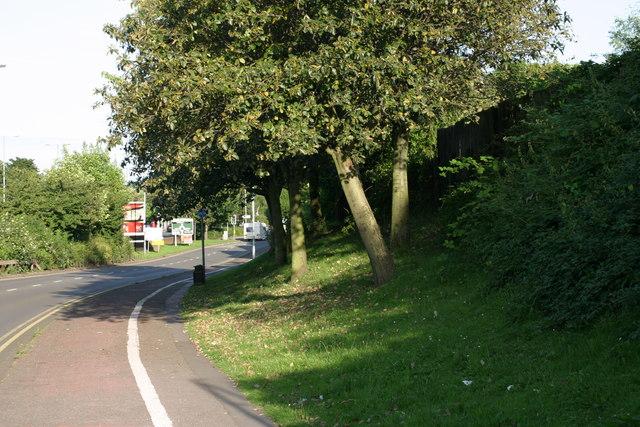 Offa Drive, path