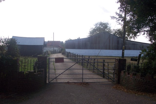 Ramstile Farm, access road