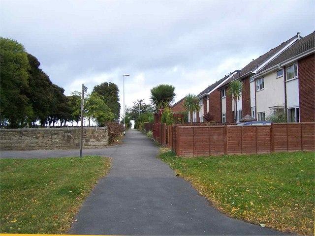 Footpath by East Ardsley Church