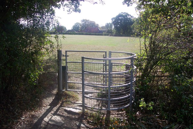 Kissing Gate near High Halden Recreational Ground