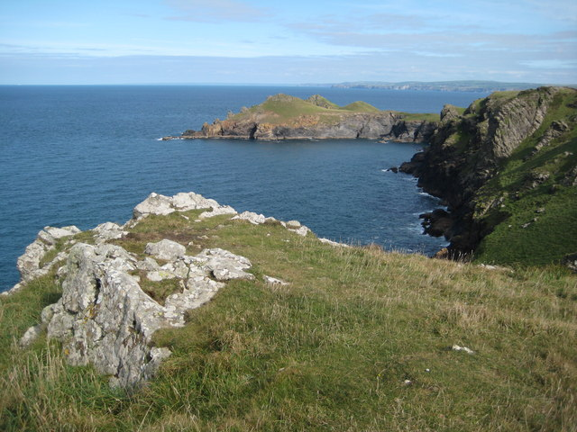 Rumps Point viewed from Pentire Point
