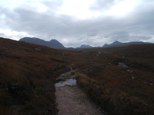The path from Shieldaig to Torridon