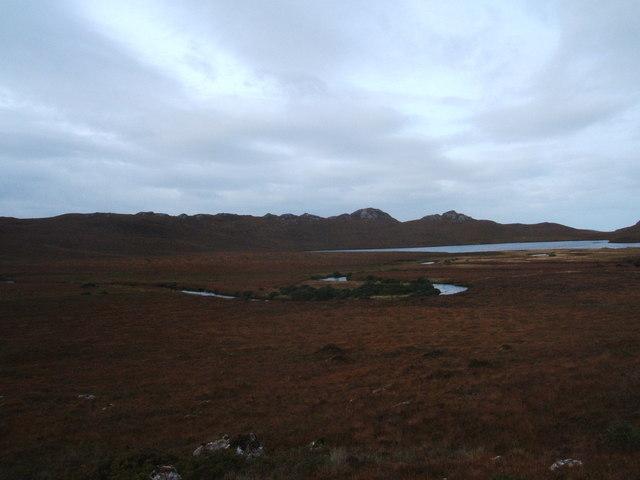 Maeanders in the Abhainn Braigh Horrasdail