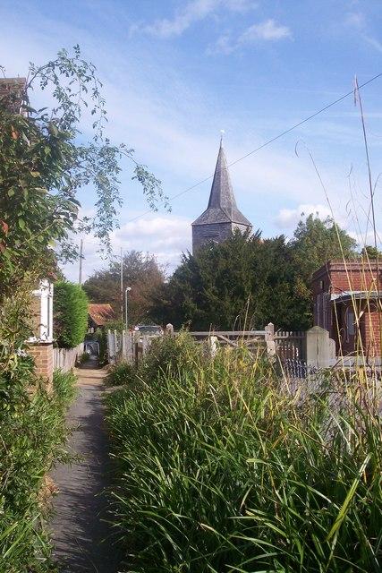 Footpath to High Halden Church