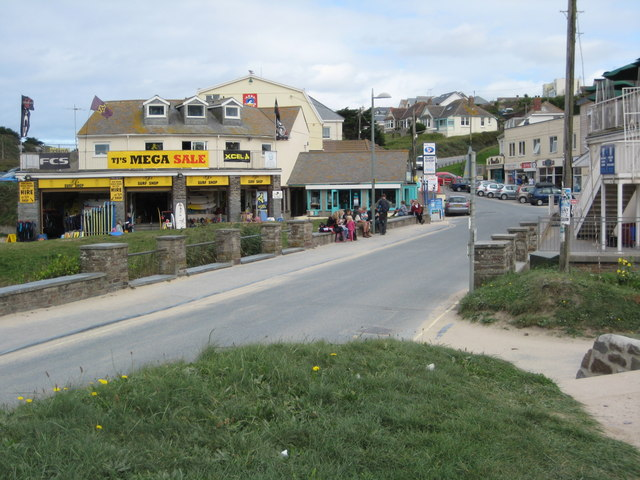 Shops in Polzeath