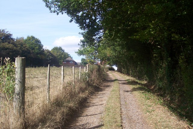 Restricted Byway to Ashford Road,Durrant Green