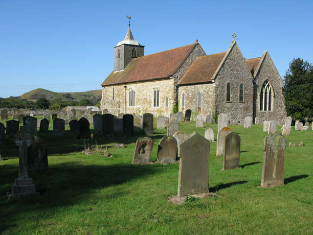 The church of St Nicholas from the SE