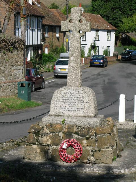 The war memorial, Newington