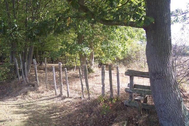 Stile near Poppet Wood