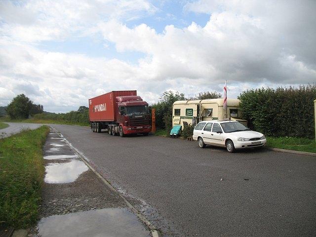 Roadside snack van, Felhampton