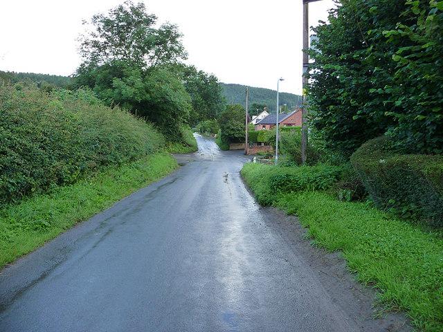 Road in Bucknell