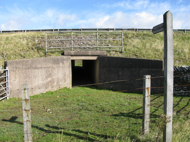 Under the A66